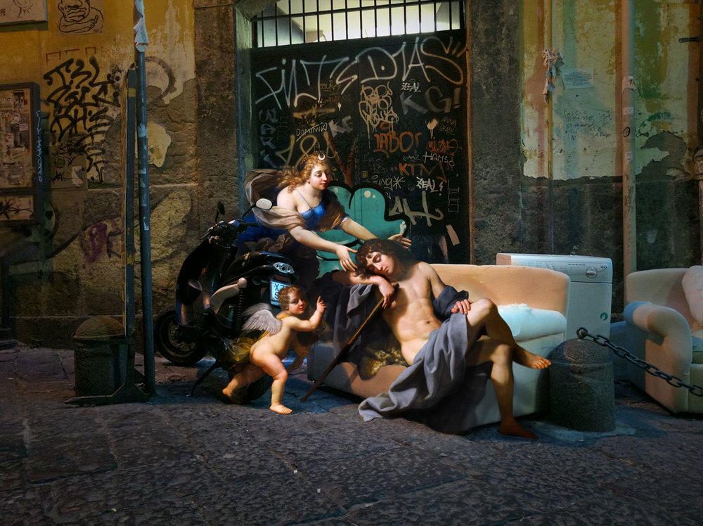 personaggi-dipinti-rinascimento-invadono-strade-napoli-fotomontaggi-alexey-kondakov-09