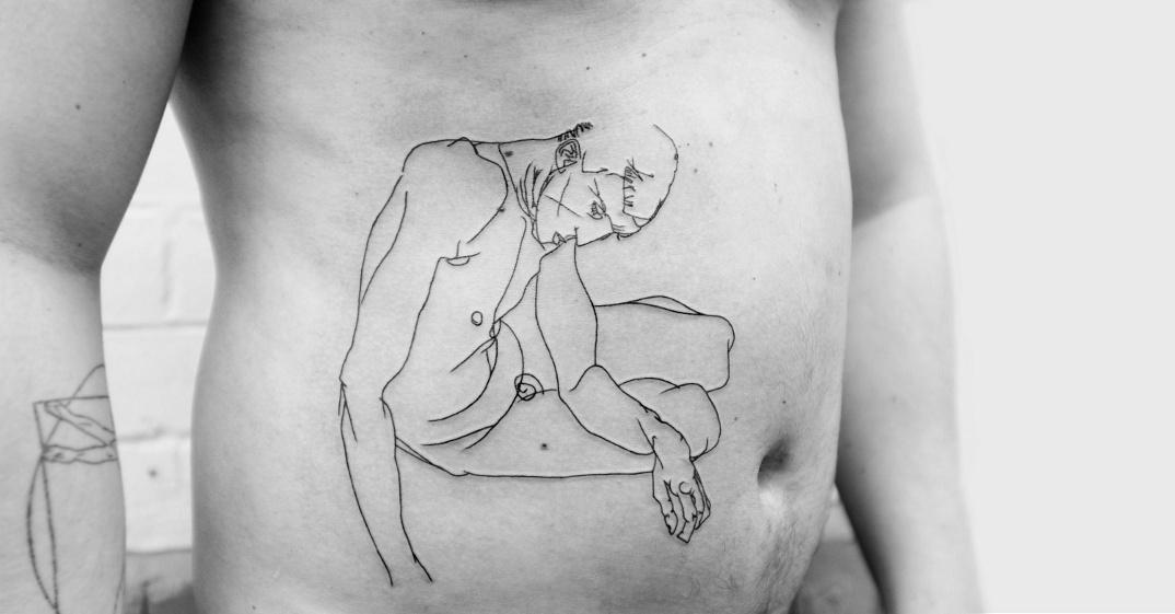 tatuaggi-ispirati-opere-egon-schiele-03