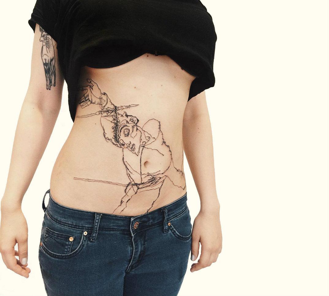 tatuaggi-ispirati-opere-egon-schiele-09