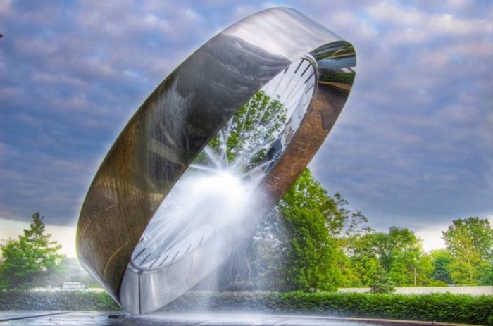 Fontane moderne nel mondo scultura arte contemporanea