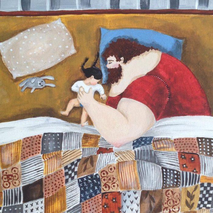 illustrazioni-acquerelli-padre-figlia-snezhana-soosh-061-700x700