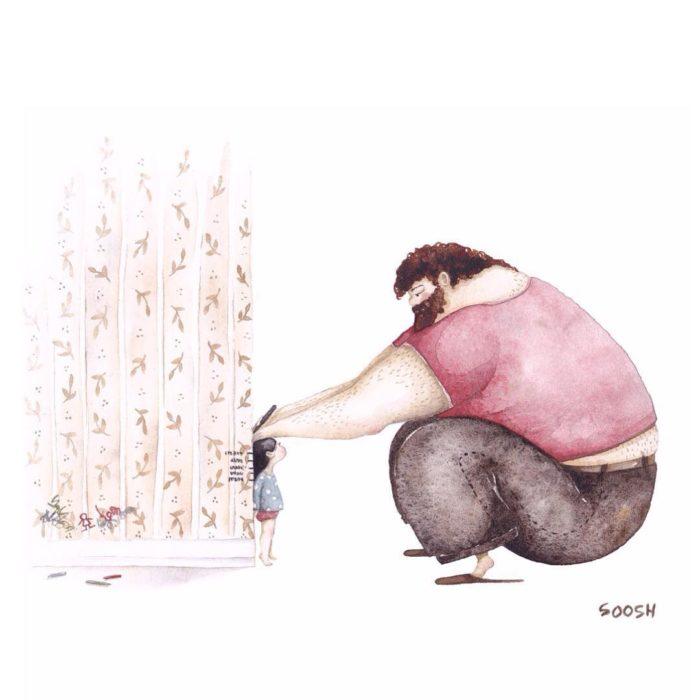 illustrazioni-acquerelli-padre-figlia-snezhana-soosh-18