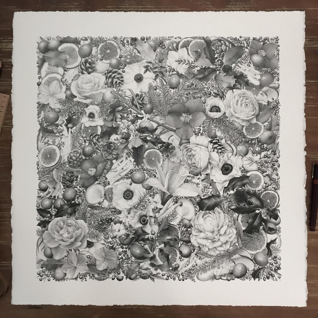 disegno-punti-inchiostro-winter-puntinismo-xavier-casalta-04
