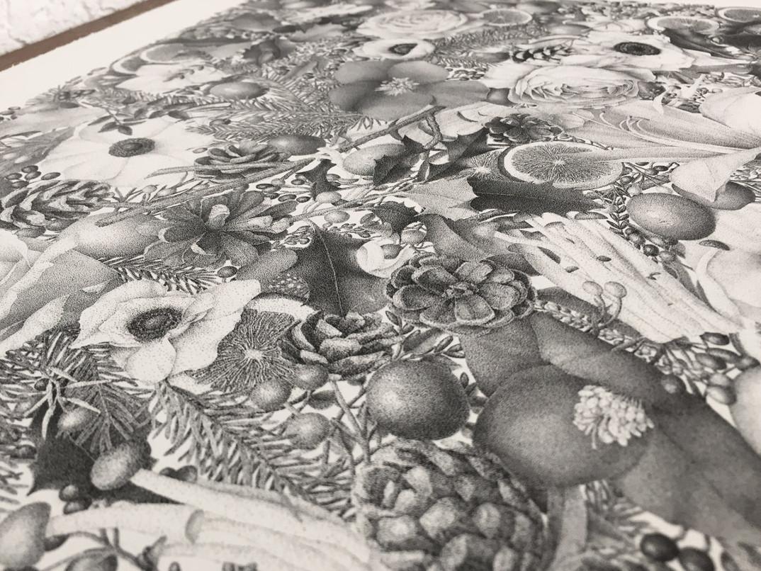 disegno-punti-inchiostro-winter-puntinismo-xavier-casalta-07