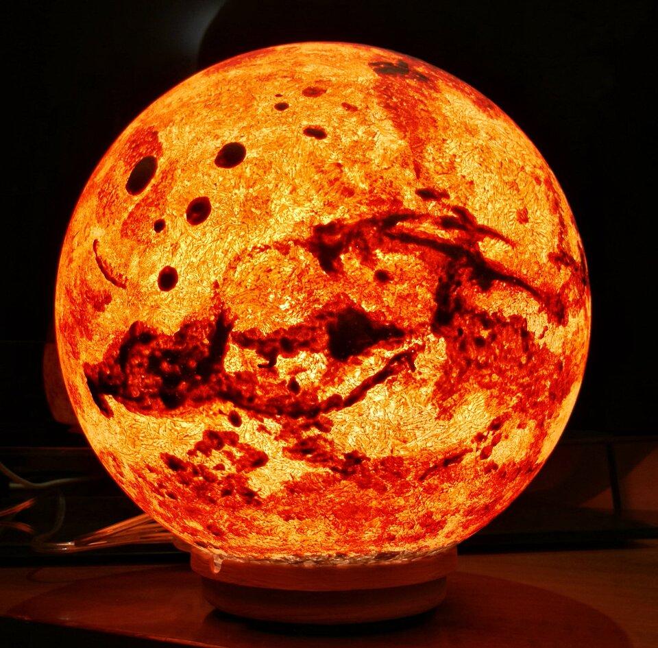 Lampade a forma di luna e pianeti per sentirsi immersi nello spazio keblog - Lampada luna ikea ...