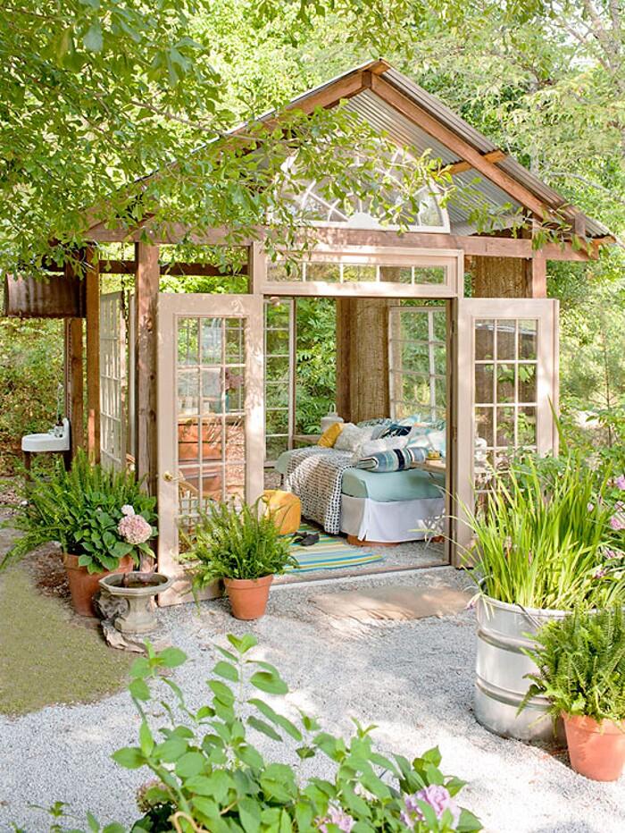 14 esempi di angolo relax da giardino che avrete voglia di