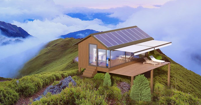 Casa passiva stampata in 3d per vivere in libert senza for Progettazione passiva della cabina solare