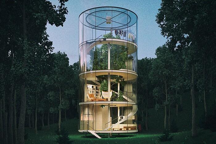 Casa sull'albero per adulti
