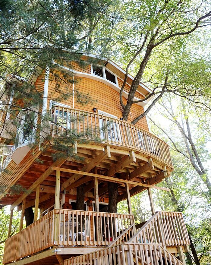 Una casa sull 39 albero ma di design 21 esempi tra i pi for Piani di una casa piani con suite di legge