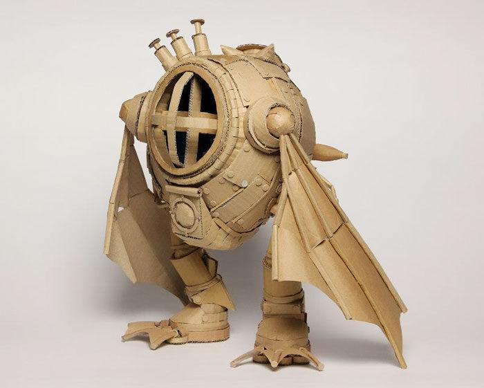 sculture-cartone-monami-ohno40