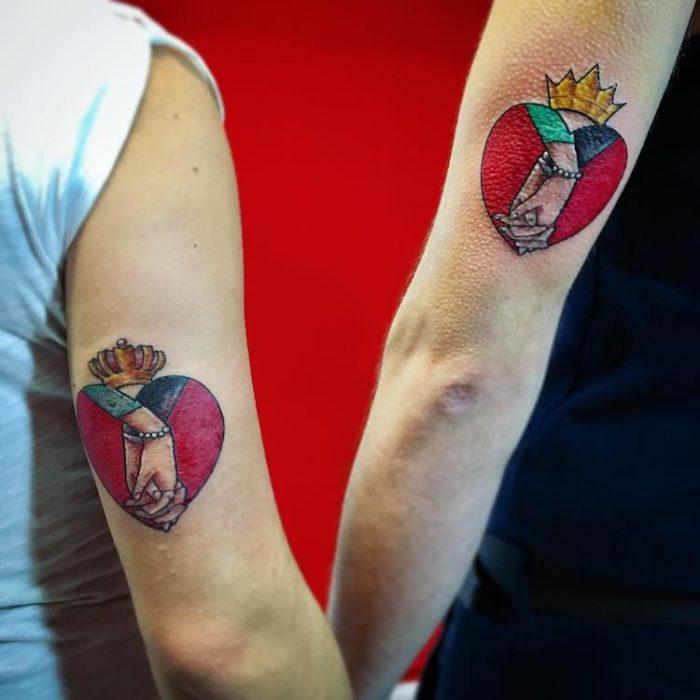 Tatuaggi di coppia per innamorati