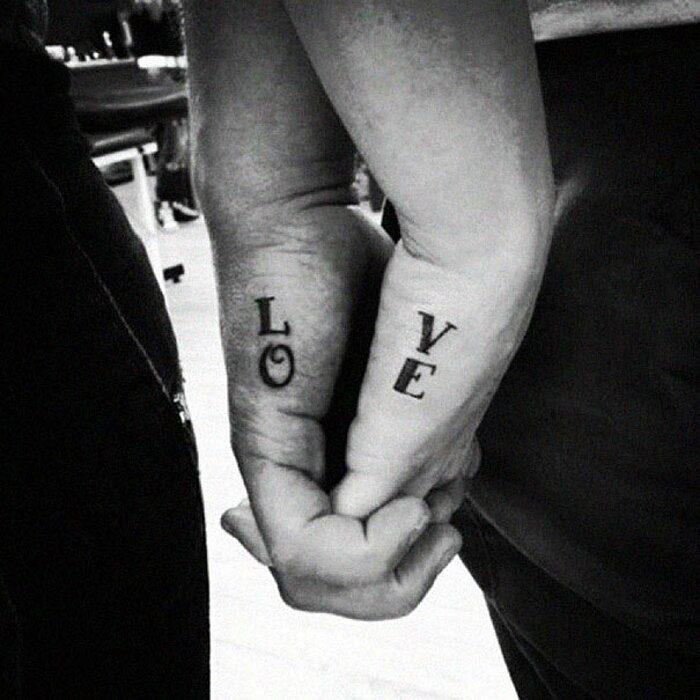 Conosciuto Tatuaggi di coppia: 204 esempi più belli dell'unione perfetta FF66