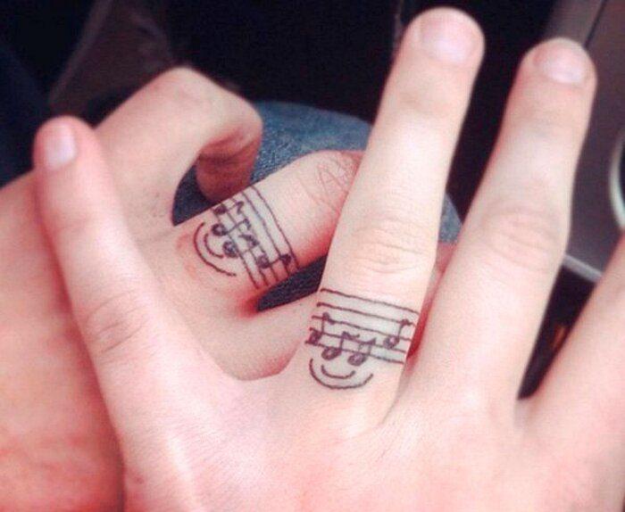 acquista l'originale negozio online in vendita Tatuaggi di coppia: 228 esempi più belli dell'unione perfetta
