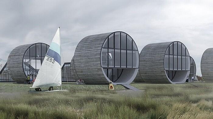 Case strane del mondo 49 esempi di abitazioni folli for Case futuristiche