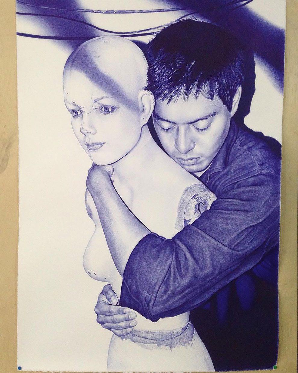 disegni-penna-biro-iperrealismo-alfredo-chamal-18