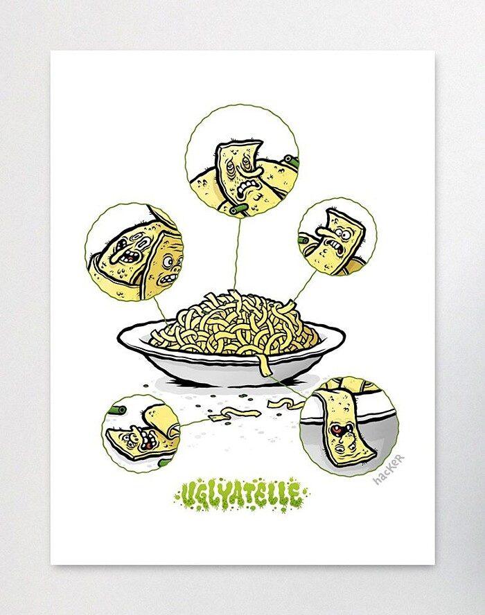 illustrazioni-divertenti-pizzeria-disgusto-michael-hacker-05