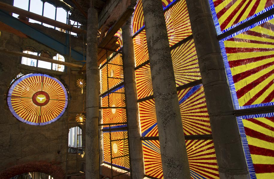 Former Monk Builds His Own Cathedral