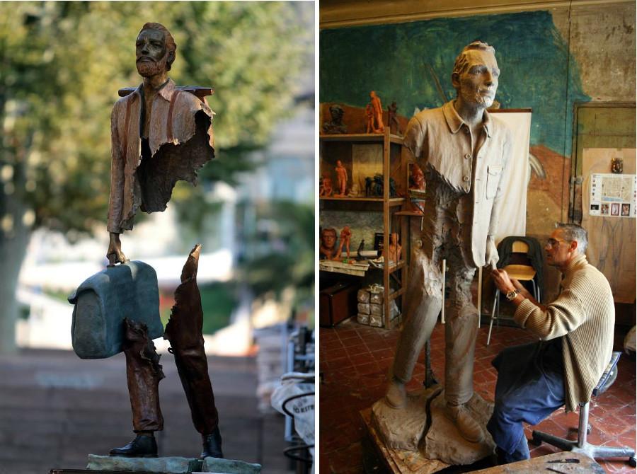 sculture-bronzo-voyageurs-bruno-catalano-12