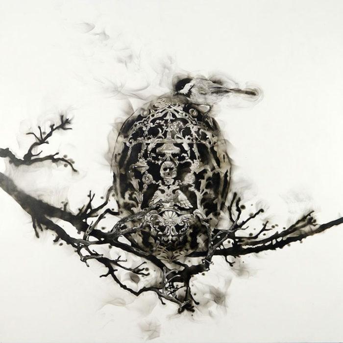 uccelli-dipinti-con fuoco-fumo-fumage-steven-spazuk-04