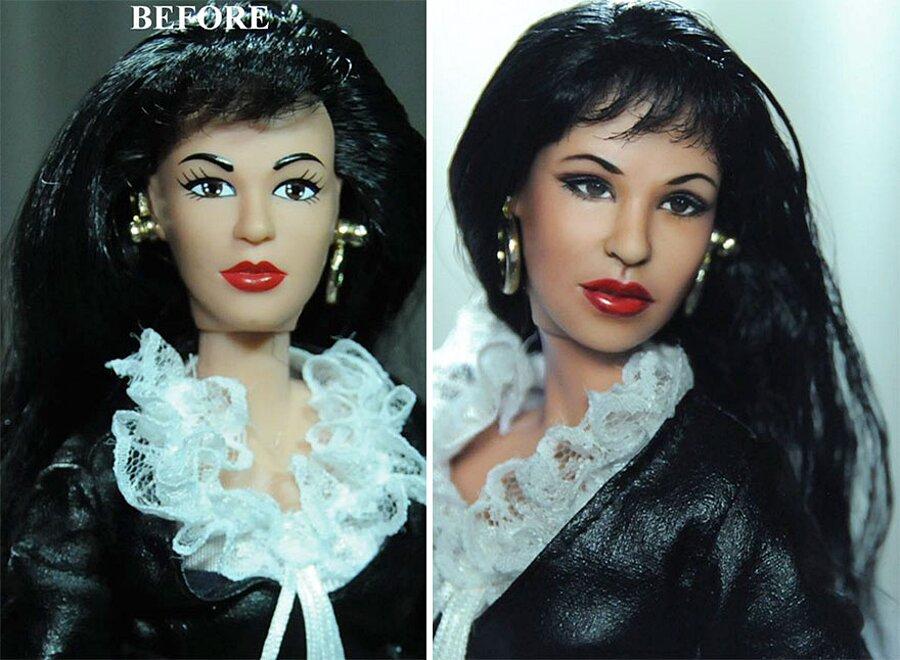 Bambole Realistiche Ridipinte Come Attori Noel Cruz