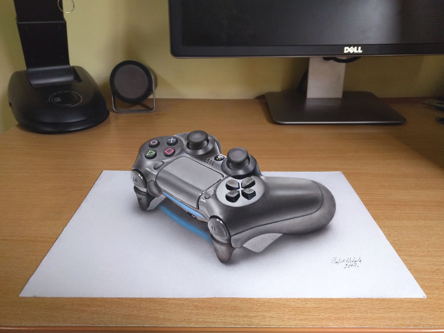 Disegni 3D Arte Anamorfica Nikola Čuljić