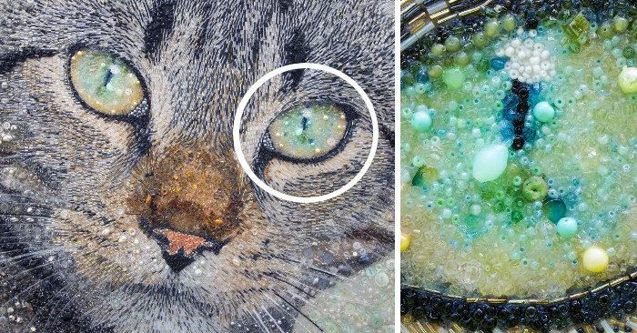 Guardate bene il ritratto di questo gatto, non è quello che sembra!