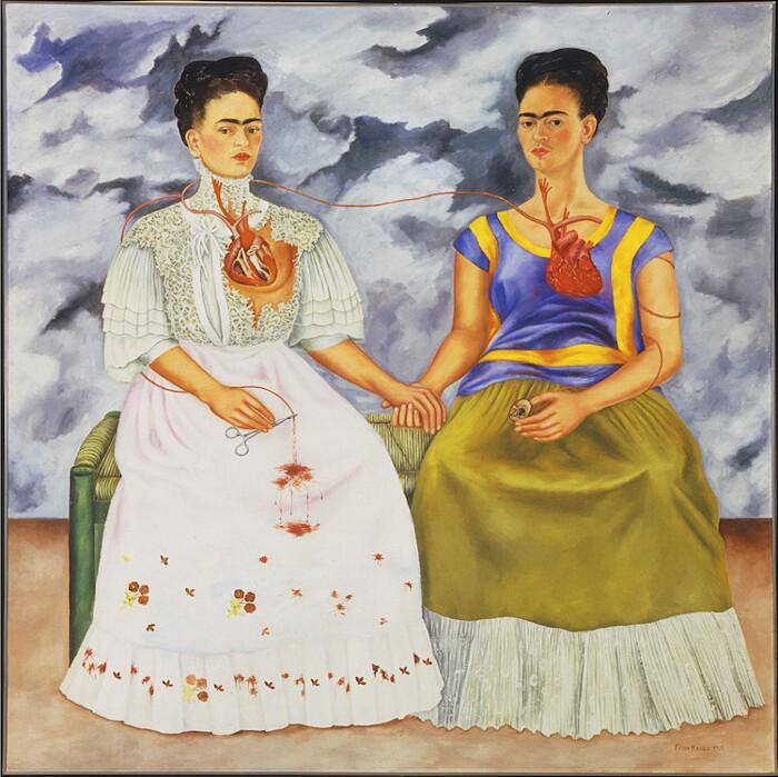 Significato quadri Frida Kahlo - Le due Frida