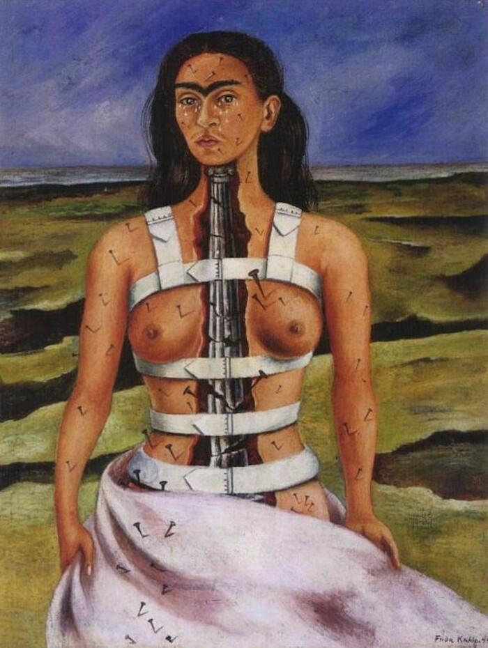 Significato quadri Frida Kahlo - La colonna rotta