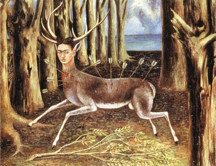 Significato quadri Frida Kahlo - Il cervo ferito