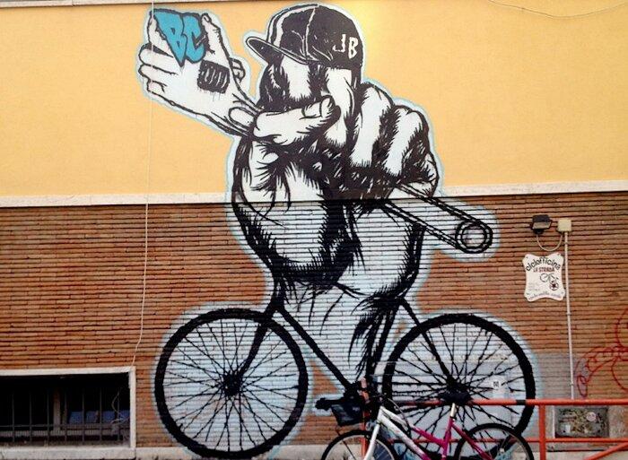 Street Art Roma - C.s.o.a. La Strada