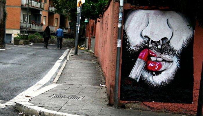 Street Art Roma - Aloha, San Lorenzo