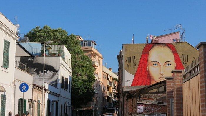 Street Art Roma - Maupal e Mr. Kleva, via Fanfulla da Lodi