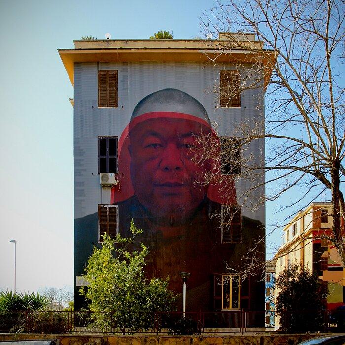 """Street Art Roma - Matteo Basilé, """"Ordine e Disordine"""", Tor Marancia"""