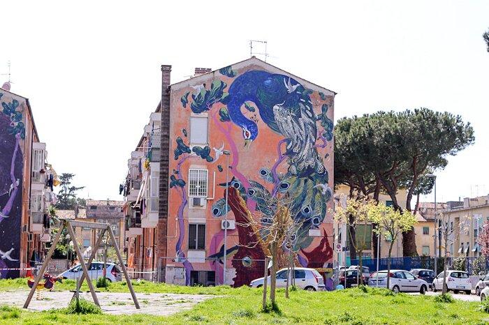 Street Art Roma - Hitnes, San Basilio