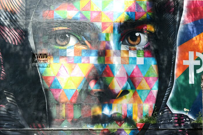 "Street Art Roma - Eduardo Kobra, ""Malala"", MAAM, via Prenestina"