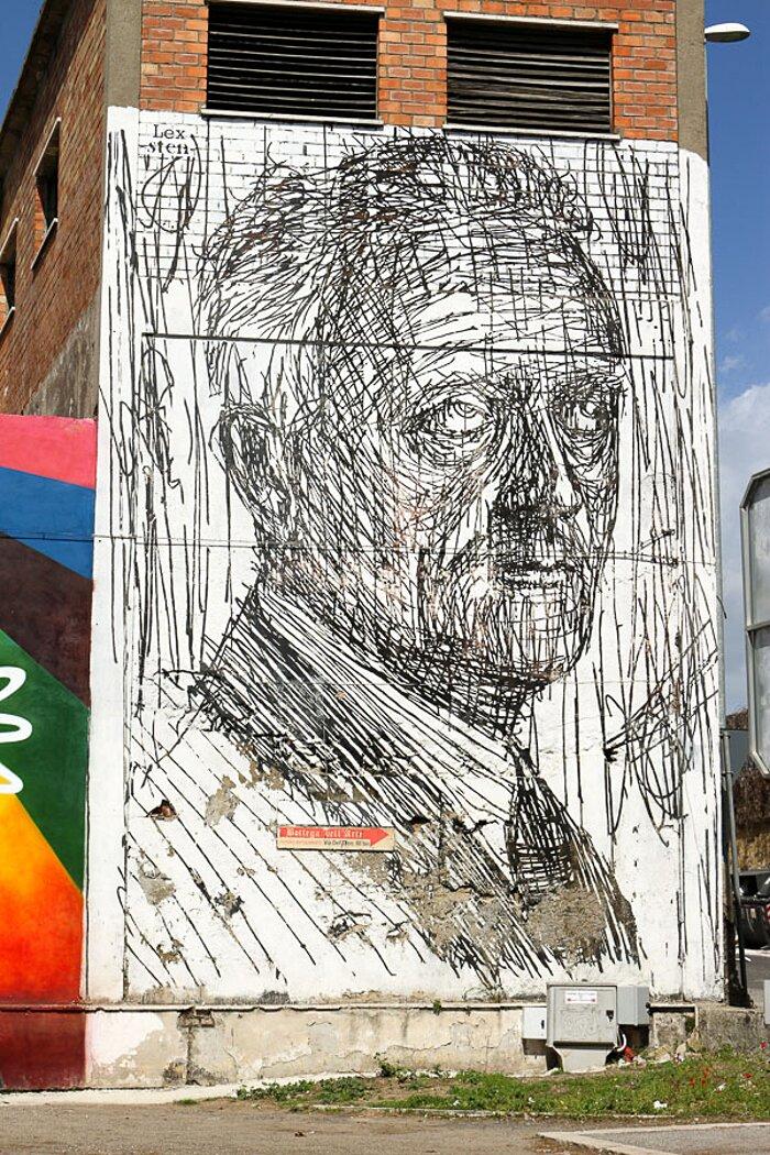 Street Art Roma - Sten Lex