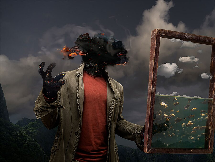Foto Surreali Arte Digitale Collage Fotomontaggi Mikhail Batrak