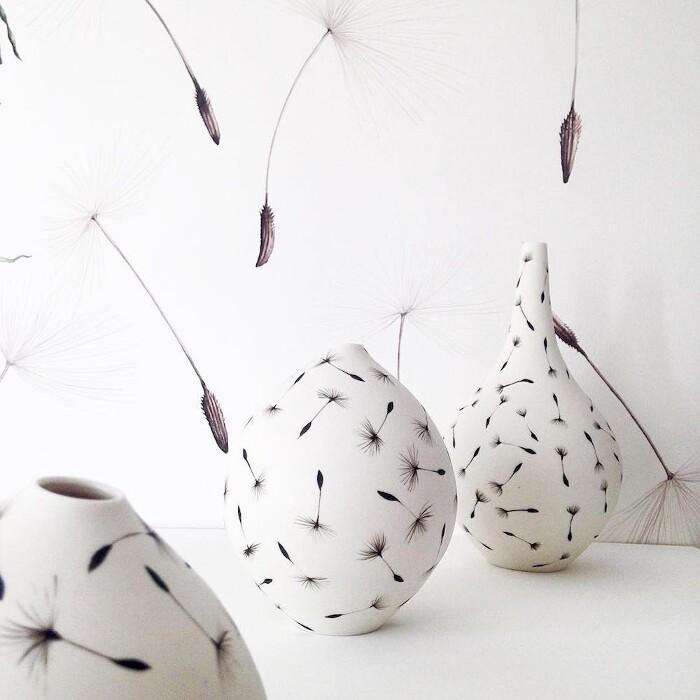 Ceramiche Dipinte a Mano Ispirate alla Natura di Niharika Hukku
