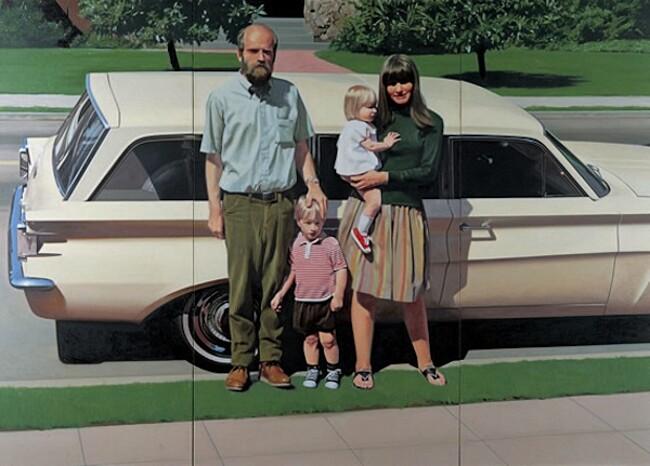 Dipinti Iperrealismo Artisti Iperrealisti Robert Bechtle