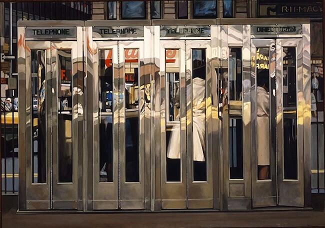 Dipinti Iperrealismo Artisti Iperrealisti Richard Estes