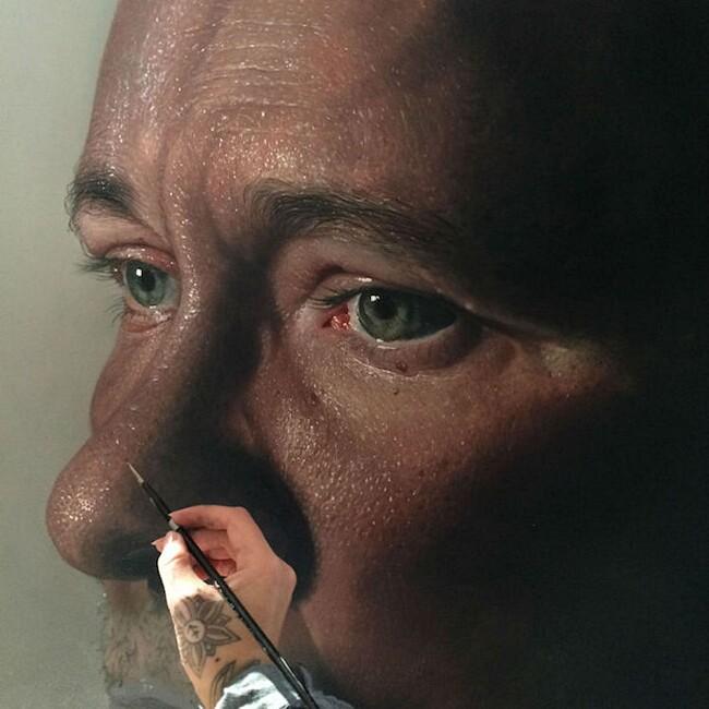 Dipinti Iperrealismo Artisti Iperrealisti Kit King e Corey Oda Popp