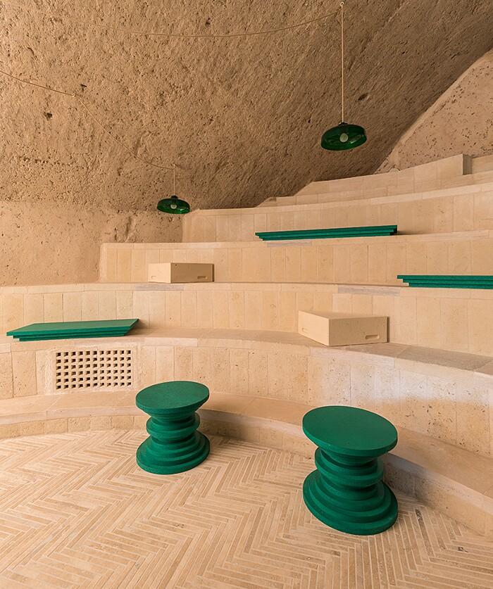 Enoteca Dai Tosi Matera Architecten de Vylder Vinck Taillieu