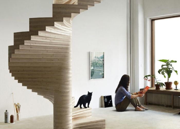 Popolare Scale interne dal design moderno: 27 bellissimi esempi CT61