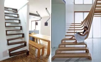 27 Bellissimi esempi di scale dal design moderno
