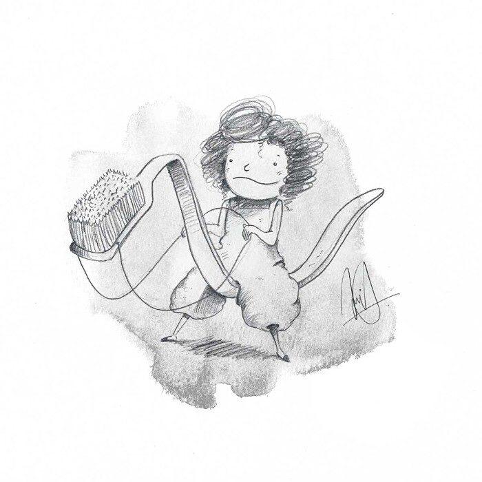 illustrazioni-bambini-profughi-ue-Toothbrush-Kristof-Devos-Belgium