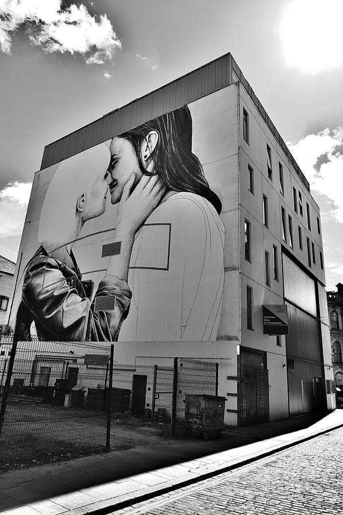Murales Street Art Irlanda Joe Caslin