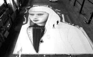 Insegnante irlandese realizza opere di street art che promuovono i cambiamenti sociali