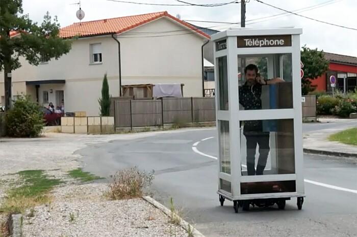 Installazione Cabina Telefonica Mobile Benedetto Bufalino