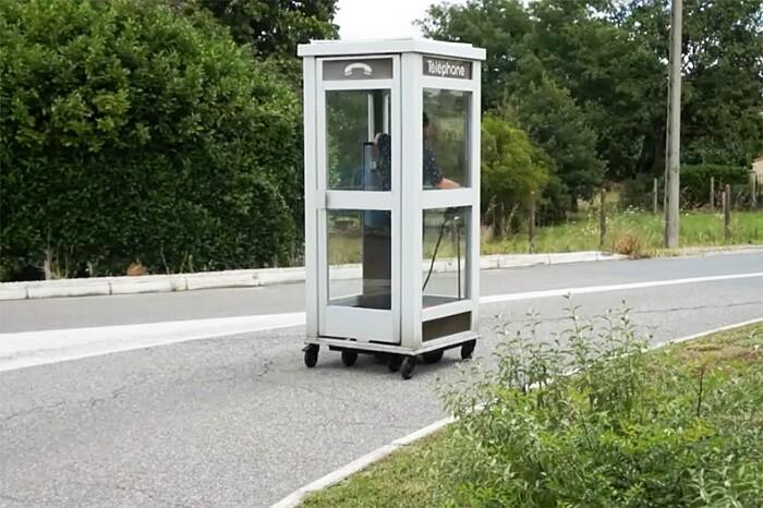 Cabina Telefonica : Installazione cabina telefonica mobile benedetto bufalino keblog