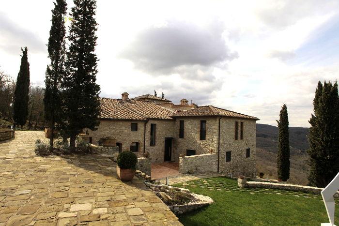 Casale Toscana Arredamento Contemporaneo Lenzi + Baglini Architetti